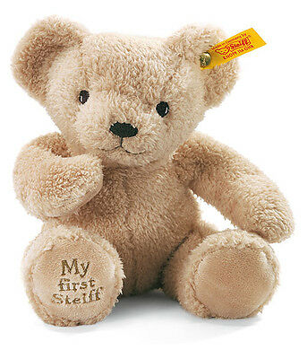 My First Steiff Bear...Beige  or  Cream  or  Blue  or  Pink. Gift Box available