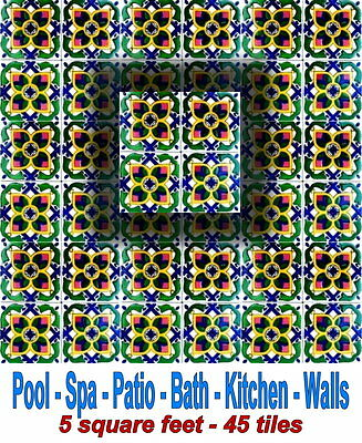 Lot 5 Sf State Of The Art Antique Looking Swimming Pool Bath Wall Ceramic Tiles