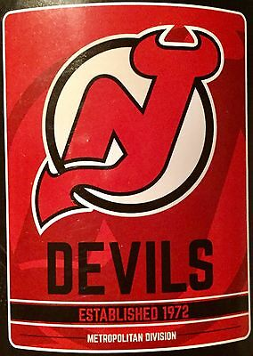 "New Jersey Devils NHL Logo 46"" x 60"" Soft Fleece Blanket"