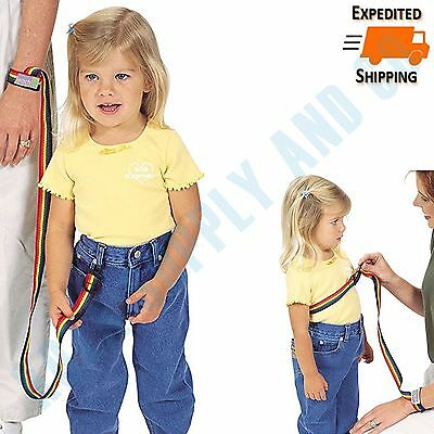 Toddler Safety Strap Anti Lost Harness Adjustable Leash Wrist Velcro Baby Child