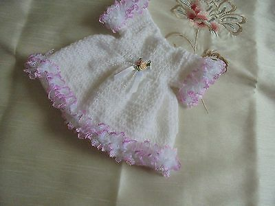 Hand Knitted Dress  For 18 Inch Doll