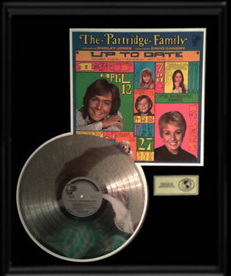 Partridge Family Up To Date  Album  Rare Gold Record Platinum Disc Lp