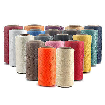 260M 150D 1MM Leather Sewing Waxed Wax Thread Hand Stitching Cord Craft DIY NWT