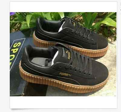 PumaS CREEPERings SUEDE Rihanna WMNS Creeper X for Men and Women shoes