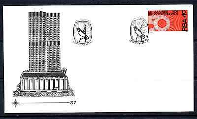 South Africa 1974 Fdc – 50 Years Of Broadcasting #a0078