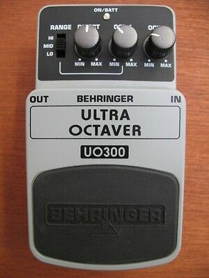 Behringer Ultra Octaver UO300 Effects Pedal