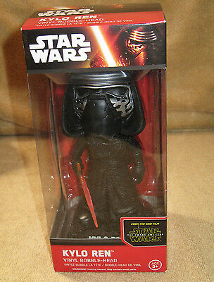 Star Wars Bobble-head Kylo Ren NIB from Funko New in Box