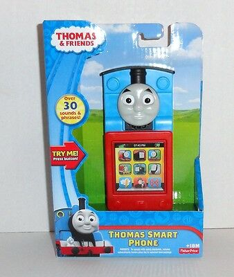 New Fisher Price Thomas the Train Talking SMART PHONE Pretend Play Toy #BCX74