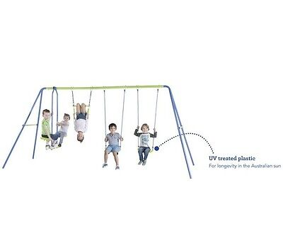 Action Sports 4-unit Swing Set