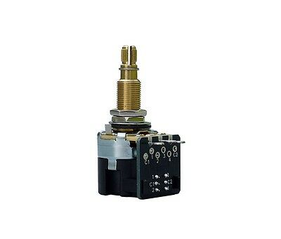 "CTS Push-Pull Potentiometer, Long Shaft, 3/4"" Bushing, 500K Audio"