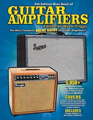 Blue Book of Guitar Amplifiers 5th Edition Guitar Book NEW 000210370