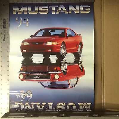 "Mustang Poster 1964 1/2 - 1994 30th Anniversary 24"" x 18"""
