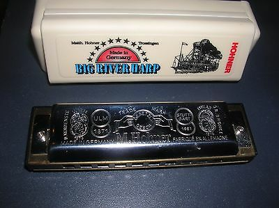 Hohner 590 D Big River Harp Harmonica Germany