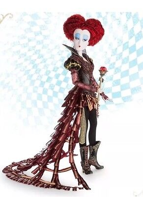 """Disney Alice Through The Looking Glass Limited Edition Red Queen 17"""" Doll"""