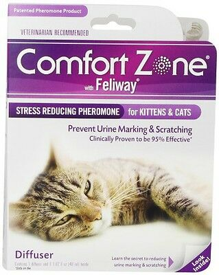 Comfort Zone with Feliway 2-Pack Cat Diffusers