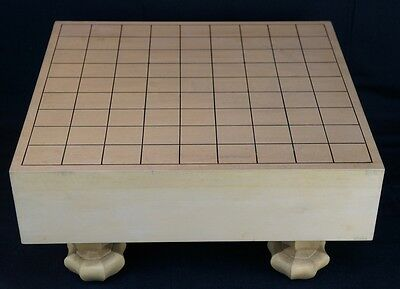 Vintage traditional Japanese chess Shogi board Kaya wood 1900's Japan craft