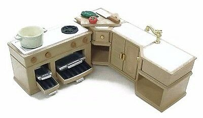 New Sylvanian Families Doll Accessory  furniture kitchen set free Postage F/S