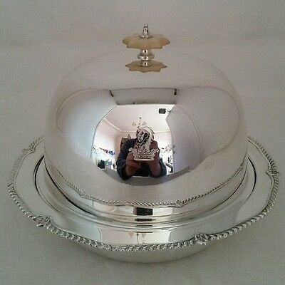 George V sterling silver Muffin Dish.Sheffield 1930.By Harrison Bros.& G.Howson