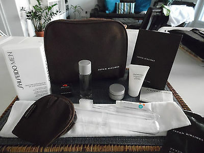 JAPAN AIRLINES JAL First Class SHISEIDO Amenity Kit Trousse Neceser Kulturbeutel