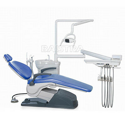 Computer Controlled Dental Unit Chair hard Leather &Handpiece Scaler Sets