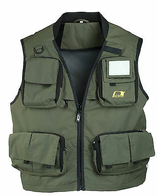 Baleno anglers fishing vest gilet waterproof breathable Size XXL Measured New