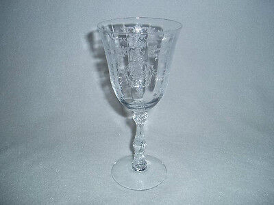 Fostoria NAVARRE Crystal LARGE CLARET  Goblet Free U.S. Shipping More Available