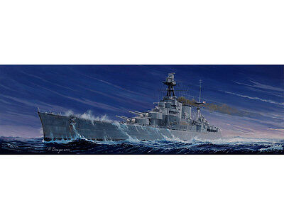 Trumpeter 05302 1/350 HMS Battle Cruiser Hood Plastic Model Warship Kit