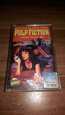 Pulp Fiction Soundtrack OST Album Cassette Tape MC Kassette Tarantino