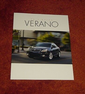New 2017 Buick Verano Deluxe Dealer Brochure From Case +  Free Shipping