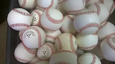 20 DOZEN NEW LEATHER BASEBALLS slight cosmetic blem GAME OR PRACTICE BUY NOW!