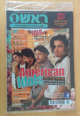 All American Rejects Israeli Hebrew Magazine + GLEE Poster Mint Sealed Rare