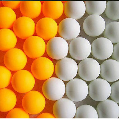 12*Hot Wholesale Budget Plastic Table Tennis Ping Pong Balls Training Sports