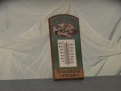 Vintage Southern Comfort Temperature Display Wall Hanger Grand old Drink of Sout