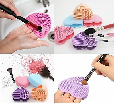 Makeup Foundation Brush Cleaner Cosmetic Cleaner Silicon Scruber Glove Brand new