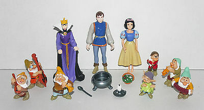 Disney Princess SNOW WHITE & 7 DWARFS PLAYSET with Prince & Queen
