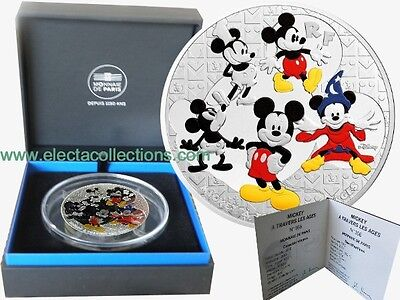 France - 50 Euro Argent, Mickey Mouse, 2016