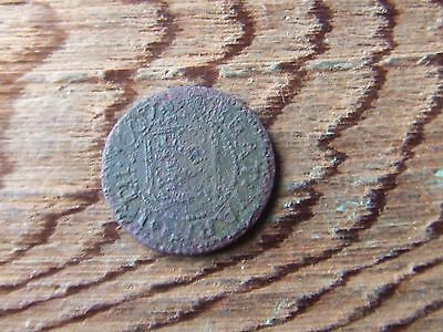 Great Yarmouth.   1667, Farthing Token.   Poor Condition.