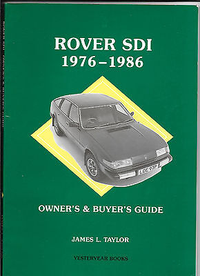 Rover SD1 1976-86: Owners and Buyers Guide (Buyers guides), JAMES Taylor