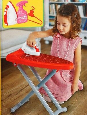 Kids Laundry Ironing Board Iron Pretend Playset, Candy & Ken