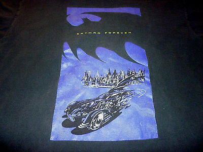 Batman Forever Rare Vintage 1995 Shirt  ( Used Size XL ) Good Condition!!!