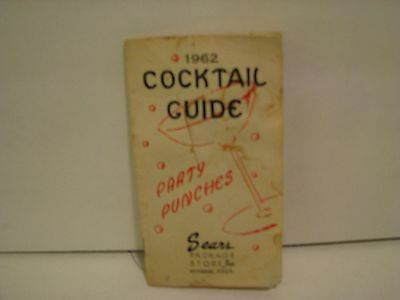 Vintage  Cocktail Guide by sears 1962     hyannis mass