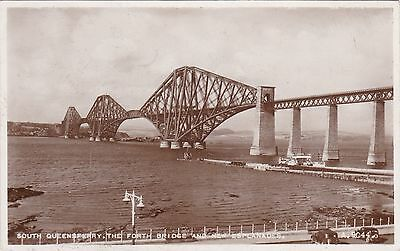 The Forth Bridge & New Esplanades, SOUTH QUEENSFERRY, West Lothian RP