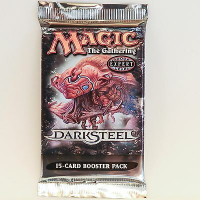 MTG: DARKSTEEL Sealed Booster Pack - Magic the Gathering - Mirrodin Block