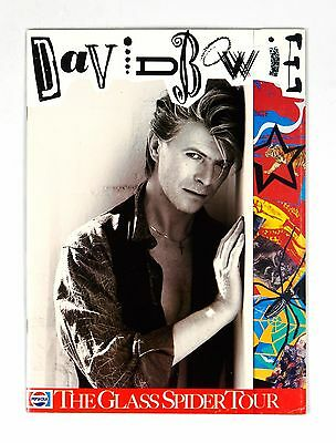 David Bowie The Glass Spider Tour Program Book 1987
