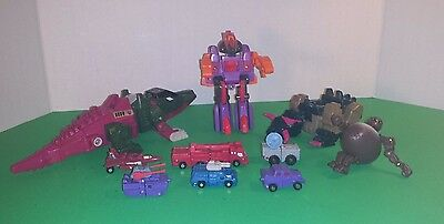 LOT OF TRANSFORMERS-10 ACTION FIGURES FROM 1.5in TO 10in