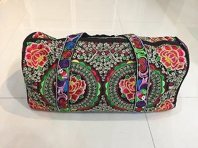 Hill Tribe Baggage Thai Hmong Embroidered Ethnic Hippie Boho