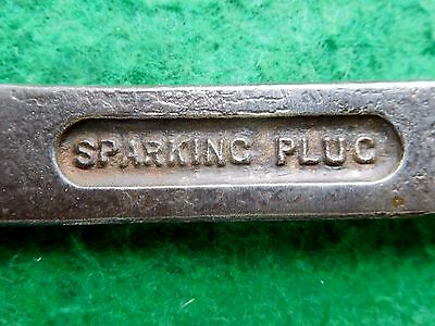 Vintage car combination spanner spark plug cylinder head nuts genuine /1581
