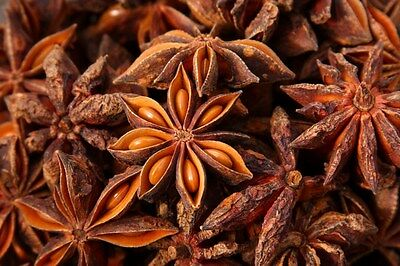 WHOLE MACE - STAR ANISE SPICES FROM INDIA (40 Grams) - FREE SHIPPING