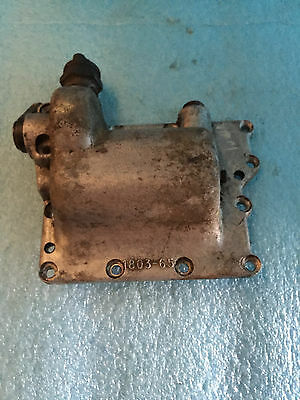 Harley Oem Panhead Top Transmission Plate With Gears And Shifter