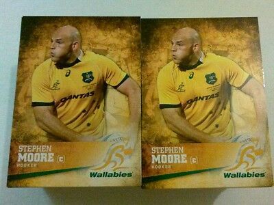 2016 Tap N Play Rugby Union 100 Card Base Set (From Sealed Box)